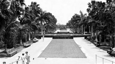 Bayfront Park from Bandshell on May 30, 1934