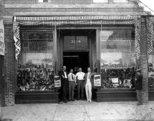 Sewell Brothers Open Up First Store in 1896