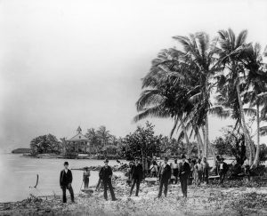 Groundbreaking for Royal Palm Hotel on March 15, 1896