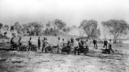 Preparing Grounds of Royal Palm Hotel in 1896