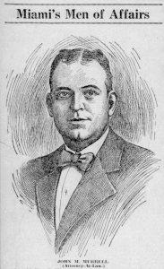 Profile in Miami Tribune on March 28, 1925