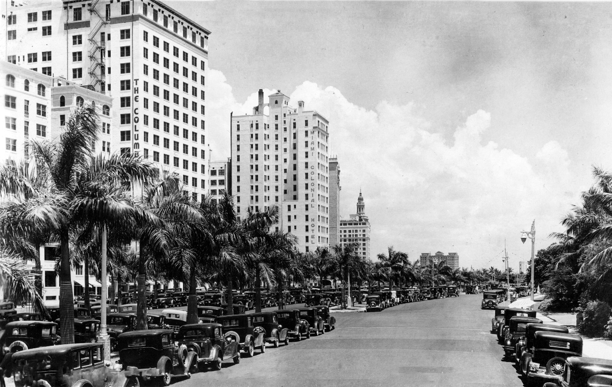 Biscayne Boulevard in 1930s