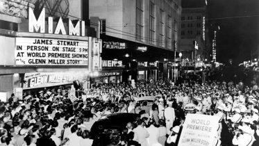 Movie Premiere at Miami Theater in 1954