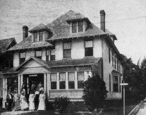 Frazure House on Biscayne Blvd in 1917