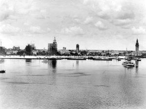 Downtown Miami Skyline in 1925