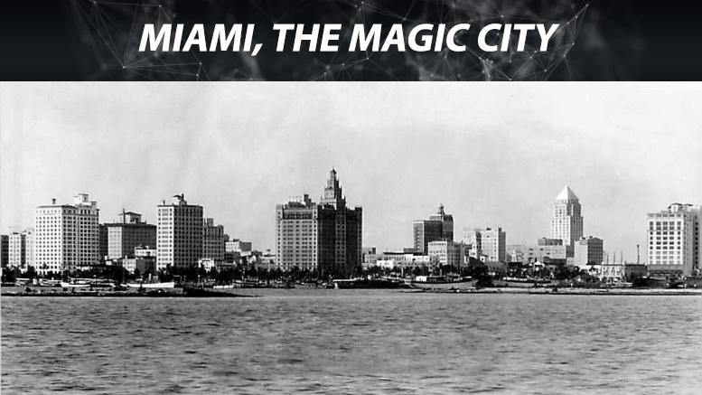 Miami Skyline in 1930