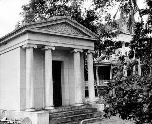 Brickell Mausoleum & Mansion in 1960
