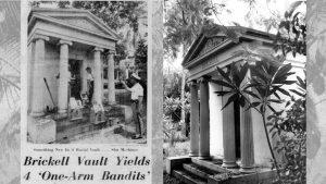 Slot Machines Found in Brickell Mausoleum in 1961
