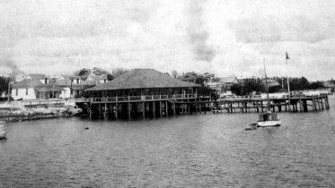 Biscayne Bay Yacht Club in 1910