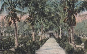 Postcard of Brickell Point in 1918