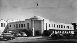 Miami Shipbuilding Corporation Administrative Building in 1943.