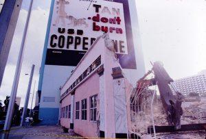 Demolition of Texaco in 1992