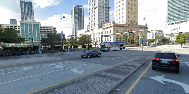 Biscayne Boulevard in 2021